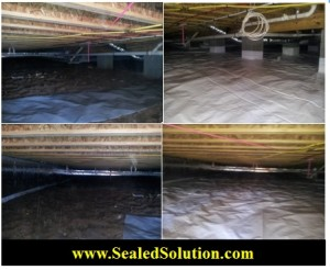 Sealed Crawl Space 1