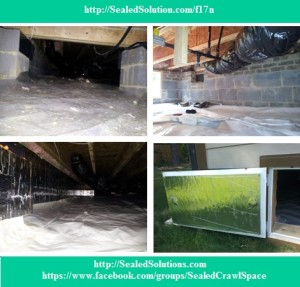Sealed Crawl Space Encapsulation 6.17.13 FB