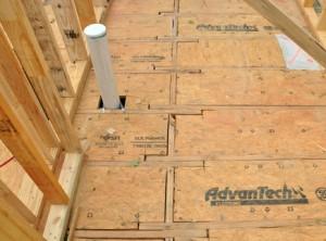 Sealed Crawl Space floor