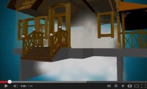 Sealed Crawl Space half air video