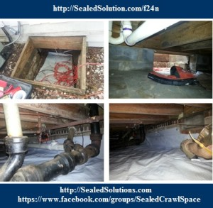 Crawl Space Encapsulation crawl drain f24n Retro