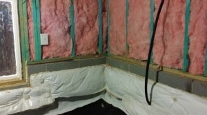 Radiant Barrier Wall