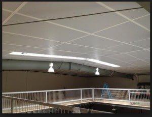 Thermax, Thermax White, Thermac ceiling, Thermax garage ceiling, Thermax White, White Thermax, Insulating garage, Garage insulation
