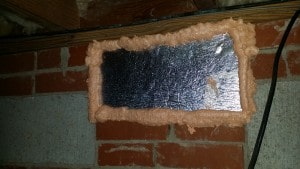 vent seal, vent cover, insulate vent, air seal vent