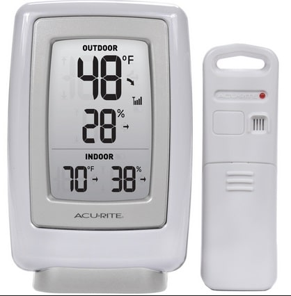 crawl space solutions, humidity gauge with remote, crawl space humidity monitoring, monitor crawl space humidityolution