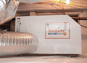 dehumidifier crawl space, crawl space solutions, crawl space dehumidifier, sante fe dehumidifier, crawl space dehumidifier